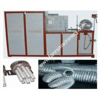 Quality Light weight Insulated Aluminum Flexible Duct Forming Machine With Steel Wire for sale