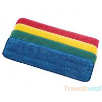 Quality Microfiber Flat Wet Mop Pads for sale