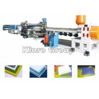 Quality PP Hollow/Corrugated Sheet Extrusion Production Line for sale