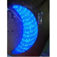 Quality led decorative christmas crescent moon light for sale