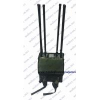 China 7 bands 120 meters 50 watt cell phone disruptor jammer on sale