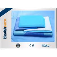 China SMMS Disposable Sterile Surgical Drapes Hip Arthroscopy Drape Set For Orthopedic Surgery on sale