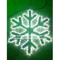 Quality led rope light snowflake for sale