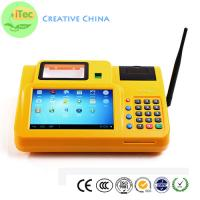Quality 7 Inch touch Android Mobile POS id OCR identify Tablet POS Fingerprint payment terminal for sale