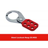 Quality Customized Logo 38mm Lock Shackle 112g PA Coated Lock Out Hasp for sale