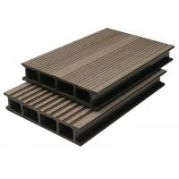 Quality Anti-Corrosion WPC Composite Decking For Cafe Grooves WPC Decking for sale