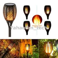 Quality Landscape Decoration Lighting Dusk to Dawn Auto On/Off Security Torch solar garden light for sale