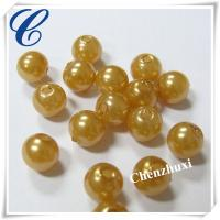 Quality Chenzhuxi plastic 8mm round smooth beads for sale