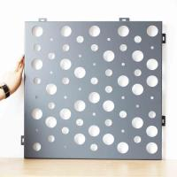 Quality Residential Or Commercial Decorative Screen Panel Various Perforated Designs for sale