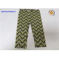 Quality Color Customized Cute Baby Girl Leggings Heart / Circle Printed Without Side Seam for sale