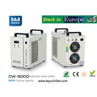 Quality S&A industrial water chiller CW-5000 manufacturer for co2 laser for sale