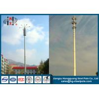 Quality Octagonal Steel Utility Poles For Telecommunication System Q235 3-12mm for sale