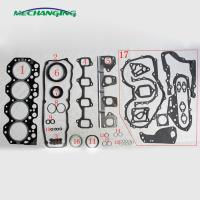 China 14B For TOYOTA DYNA 200 Platform/Chassis Diesel Engine Parts Auto Parts Intake Exhaust Manifold Engine Gasket 17171-5601 on sale