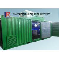 Quality 8 Cylinder AVR Brushless Natural Gas Generators Cogeneration Set 500kw with NPT Patent for sale