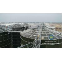 Quality Enamel Coated SteelDry Bulk Grain Storage Silos With Excellent Corrosion Resistance for sale
