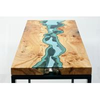 Quality Non Yellowing Crystal Wood Epoxy resin Adhesive P-128 for River Table for sale