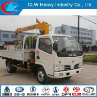 Quality Dongfeng 4X2 2ton Truck Mounted Crane for sale