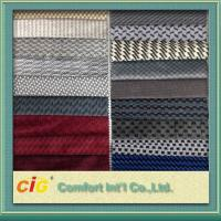 Micro Suede Polyester Auto Upholstery Fabric For Car Seat Cover Of