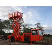 Quality Two Stage Combustion Underground Utility Equipment 1 Ton Scissors Lift Truck for sale