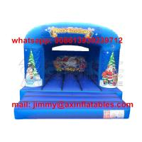 Quality Customized Bounce Castle Commercial Removable Christmas Theme Kids Inflatable Bounce House For Rental Business for sale