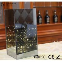 Quality Dark Brown Flat Glass Led Lights With ON / OFF Function WB-014 for sale