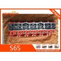 Quality Mitsubishi Forklift Engine Parts Cylinder Head For S6S 32B01-01011 32B0101011 for sale