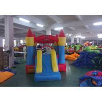 Quality Durable Big Inflatable Commercial Inflatable Bounce House Water Slide For Kids for sale