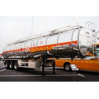 Quality tri-axle 50000 liters aluminum CIMC oil tank trailer with air suspension for sale for sale