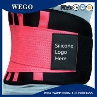 Quality WG-LS005 Red NeopreneBack Brace for Men/Women -Pink Lumbar Support for Lower Back Pain for sale