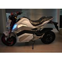 Buy cheap Ac 220v 250hz Electric Powered Motorcycles With Lithium Battery 72v 30ah from wholesalers