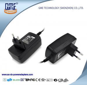 5V 2.4A / 9V 2A / 12V 1.5A Switching Universal AC DC Adapters With Eu Plug