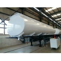 Quality 30 Cubic Meters Water Tank Trailer Truck for Unloading , Manual Transmission for sale