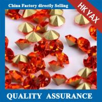 Quality point back round rhinestone china color sheet,round point back rhinestone for decoration jx0805 for sale