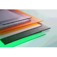 China Thin Clear Flat Perspex Sheets , Greenhouse Polycarbonate Roof Panels on sale