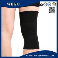 Quality Sports Knee Brace Compression Sleeve Elastic Non-Slip 3D Circular Knitti for sale