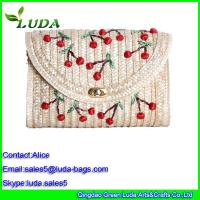 Buy cheap Wheat Straw Ladies Shoulder Bag from wholesalers