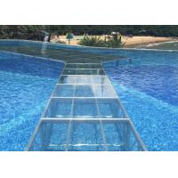 Quality Heavy Duty Acrylic Stage Platform Transparent Plexiglass Fit Swimming Pool for sale