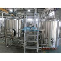 China Craft Beer Making System,Fresh Wheat Beer Making Kit Ale Beer Brewing System From China,Malt Beer Brewery Equipment on sale