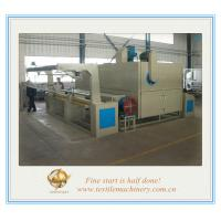 Quality Heat Setting Machine is used for processing of tubular chemical knitted fabric for sale