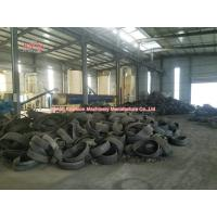 Quality Room Temperature Rubber Tire Recycling Machinery With PLC Auto Control for sale