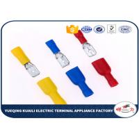 Quality MDD FDD Vinyl insulated male disconnectors,Cable Accessories,Insulated Terminals for sale