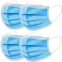 Quality Non Toxic Doctor Mouth Mask 3 Ply Disposable Masks For Dust Coronavirus for sale