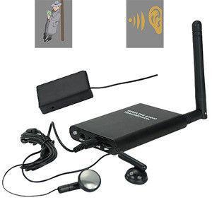 Quality 300M Wireless Transmission Hardline RF Audio Spy GSM Listening Bug for sale