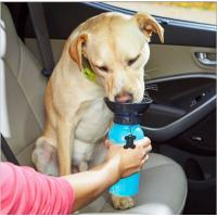 Quality 2017 hot auto dog mug,pet cup out drinking water,newest travel dog water bottle  china supplier  Pet Outdoor Water Drink for sale