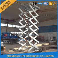 Quality Hot Galvanizing Fixed Hydraulic Cargo Lift for sale