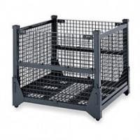 Quality Logistic Cart 4mm Mesh 6 Sided Security Roll Containers For Retail, Clothing Industry for sale