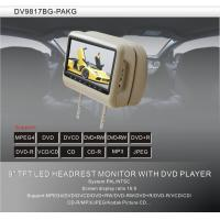 China Multi-language Car Headrest DVD Players Mp3 With Sony lens on sale
