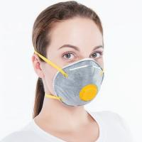Quality FFP1 / FFP2 / FFP3 Disposable Dust Mask Respirator Soft Lining Soft Nose Cushion for sale