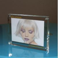 Quality customize transparent acrylic magnetic photo frame for sale