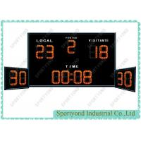 Electronic Water Polo Scoreboard With Shot Timer